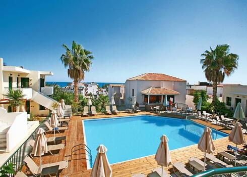 Kréta, Stalis: Katrin Suites 4*, all inclusive