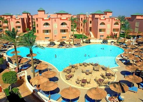 Kairó - Hurghada: Pickalbatros Sea World 4*, all inclusive