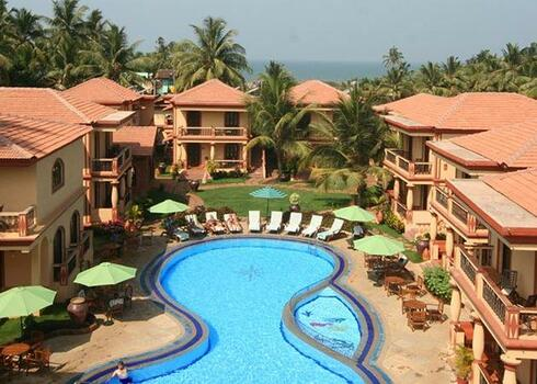 India, Goa: Resort Terra Paraiso 3*