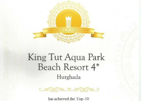 Egyiptom, Hurghada: King Tut Aqua Park Beach Resort 4*, all inclusive
