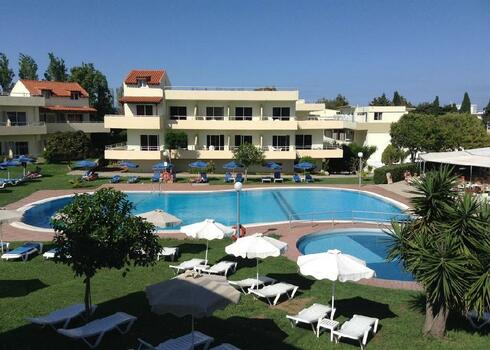 Rodosz, Kalithea: Hotel Princess Flora 3*, all inclusive