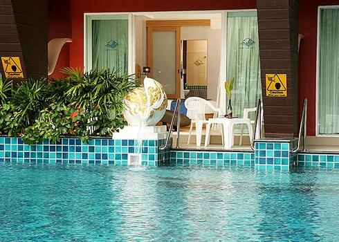 Thaiföld, Patong Beach: Blue Ocean Resort 4*