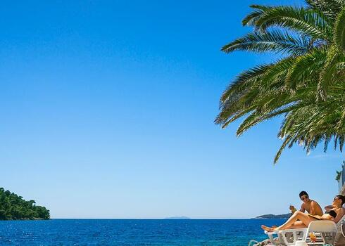 Horv�torsz�g, Korcula: Aminess Lume (Feral) Hotel 4*, all inclusive
