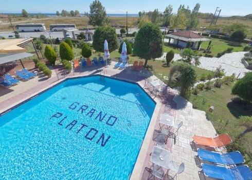 Görög szárazföld, Olympic Beach: Grand Platon Hotel 4*, all inclusive