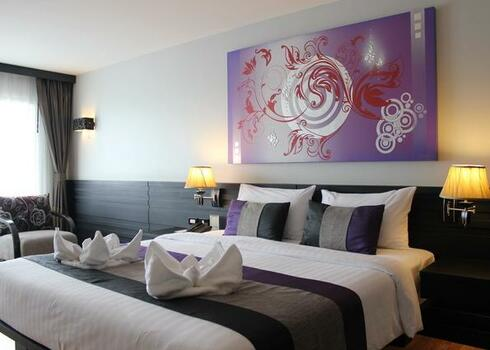 Thaiföld, Chaweng Beach: Bandara Resort & Spa 4*