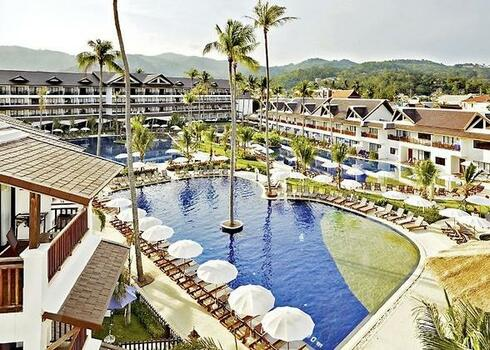 TOP HOTEL KAMALA BEACHEN! Thaiföld, Phuket:  Kamala Beach Resort 4*, all inclusive (bécsi indulással)