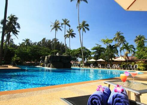 Thaiföld, Phuket: All Seasons Naiharn Phuket Hotel 3*,reggelivel