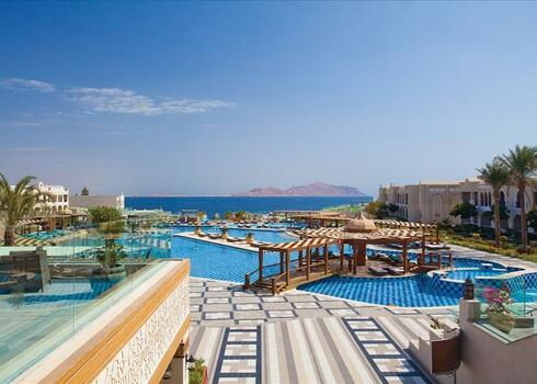 Kairó - Sharm El Sheikh: Sunrise Arabian Beach Resort 5*, all inclusive