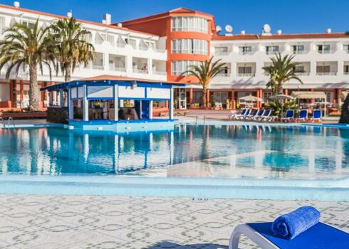Fuerteventura, Costa de Antigua: Globales Costa Tropical 3*, all inclusive