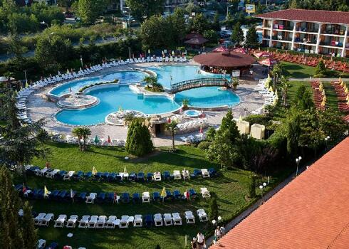 Bulgária, Napospart: Hrizantema 4*, all inclusive
