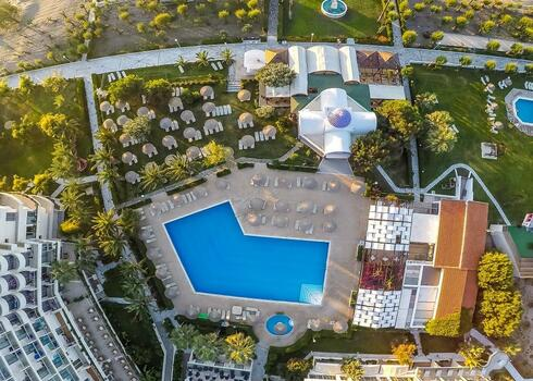 Rodosz, Faliraki: Pegasos Beach Hotel 4*, all inclusive