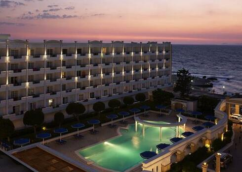 Rodosz, Rodosz: Mitsis Grand Beach Hotel 5*, all inclusive
