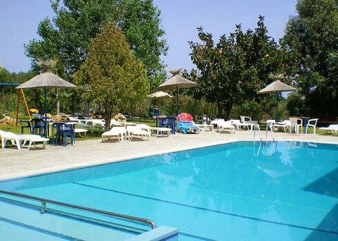 Rodosz, Afandou: Rodos Blue Family Resort 3*, all inclusive