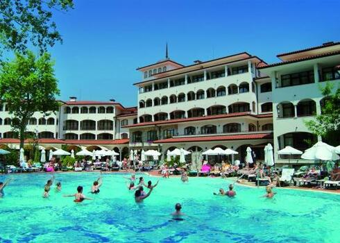 Bulgária, Napospart: Hotel Royal Palace Helena Park 5*, all inclusive