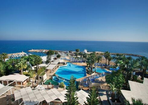 Ciprus, Protaras: Golden Coast Beach Hotel 5*, all inclusive