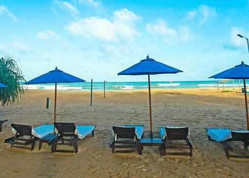 Sri Lanka, Negombo: Beacon Beach Hotel 3*