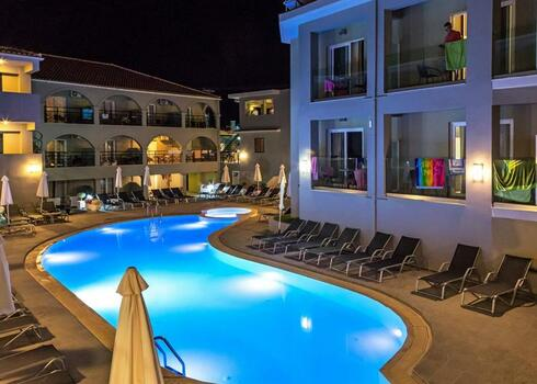 Zakynthos, Laganas: Hotel White Olive Premium Laganas 4*, all inclusive
