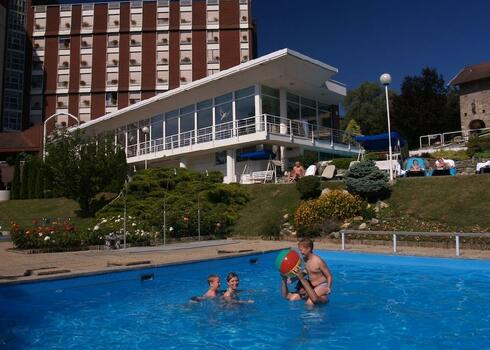 Hévíz: Ensana Thermal Aqua 4*, all inclusive